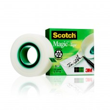 Dokumenttejp Scotch 810 Magic Invisible, 33m x 19mm, 1 rulle/fp