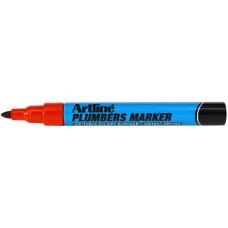 Märkpenna Artline EKPR-PLM Plumbers Marker, Röd 1/fp
