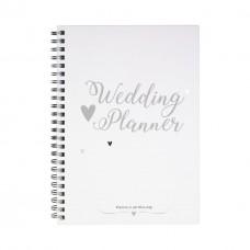Planeringsbok, Wedding Planner, för bröllopsplanering, Burde 7396