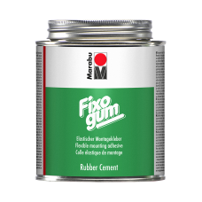 Gummiklister Marabu Fixogum, 500 gram, i plåtburk (syrafritt)