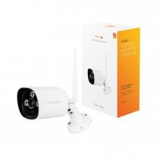 Nätverkskamera, utomhusbruk, WiFi, Ethernet, Hombli Smart Outdoor Camera (EU), Vit