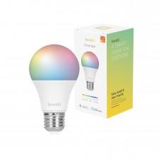 Smart lampa, WiFi, Hombli Smart Bulb E27, LED, RGB & CCT, 9W, Dimbar, Multifärg
