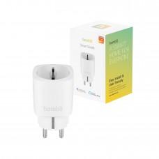 Strömbrytare, WiFi, Hombli Smart Socket WiFi Plug (EU), 16A, Vit (med energimätning)