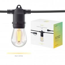 Förlängning: Smart utomhusbelysning, WiFi, Hombli Smart Outdoor Light String Extension, Dimbar, 5m (10 lampfästen, + 10 lampor)