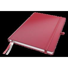 Anteckningsbok Leitz Complete Hardcover A4 Linjerat 96g, 80 blad, Röd