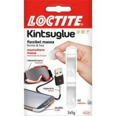 Limmassa/Reparationsmassa Loctite Kintsuglue, flexibel massa, 3 x 5 gram, Vit