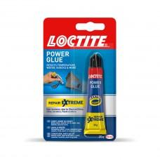 Montagelim, Universallim, Loctite Power Glue Repair Extreme, 20 gram