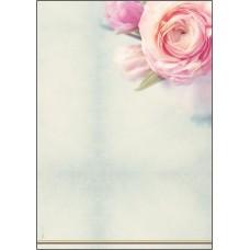 Motivpapper Sigel Rose Garden DP004 A4 90gram, 50 ark/fp