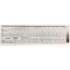 Typografisk Typometer Standardgraph 918280, 4-36 punkter, 30cm