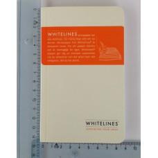 Anteckningsbok Whitelines® Notebook Pocket 48 blad linjerat 1/fp