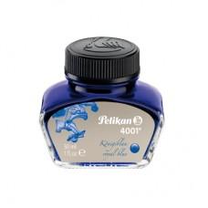 Bläck till reservoarpenna Pelikan 4001 Glasflaska 30ml Kungsblå (Royal Blue)