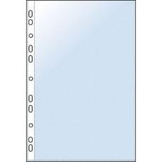 Plastfickor / Plastficka Esselte (56121), A5, 0,075mm, präglad 10/fp
