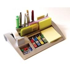 Post-it bordshållare/pennställ C50 silverfärgad