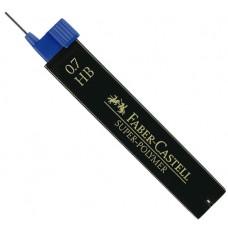 Blyertsstift Faber-Castell Super-Polymer 0,7mm,12 stift/tub HB