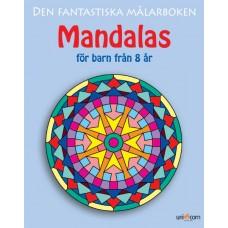Målarbok Mandalas för barn från 8 år, 27x21,5cm 1/fp