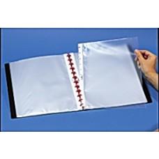 Plastfickor A4 med T-hålning till Receptklipp/Displaymapp 10/fp