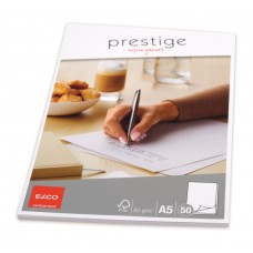 Elco Prestige Brevblock A5, 50 ark/fp