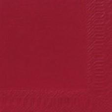 Servetter Duni 3-lager 40x40cm Bordeaux/Vinröda 1000/fp