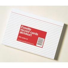 Skrivkort / Journalkort A6L 148x105mm linjerat 100/fp
