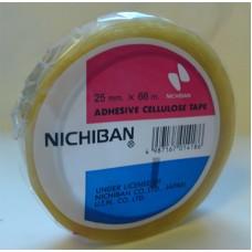 Cellofantejp ETAB 901 Nichiban 66mx25mm, 1 rulle/fp