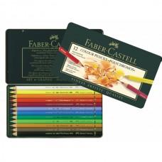 Färgpennor Faber-Castell Polychromos 12 nyanser/fp
