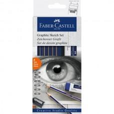 Skisspennor/Blyertspennor Faber-Castell Graphite Sketch Set Goldfaber