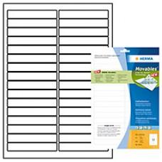 Etiketter Herma Movables 4209 (10011) A4 96,0x16,9mm Vit, 25 ark (800 st etiketter)