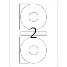 Etiketter Herma 4471 Special A4 CD/DVD Ø 116mm 100 ark/fp