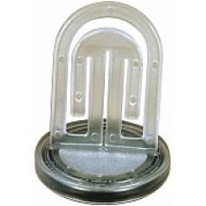 Dokumenthållare Laurel 3121-00, Ø 60x71mm, Transparent/Kristall