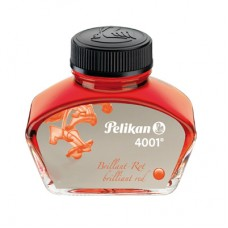 Bläck till reservoarpenna Pelikan 4001 Glasflaska 30ml Röd