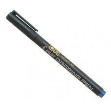 Ritpenna Pilot DR Drawing Pen 02 SW-DR-02-L, 0,35mm Blå 1/fp